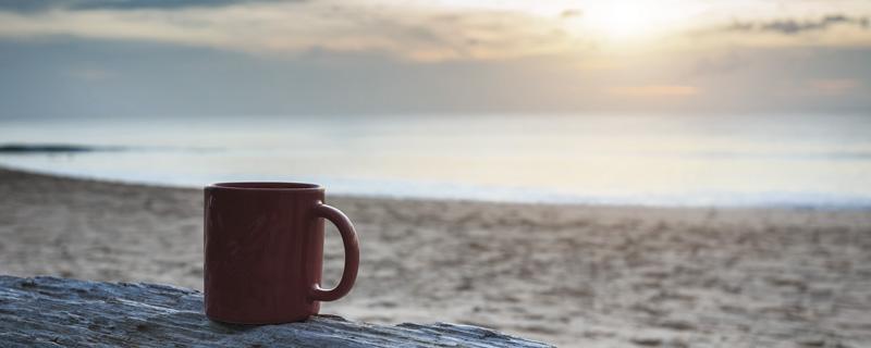 Billede af Espresso på stranden i Tarifa